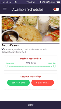 Dasher Plus – Best Food Delivery and Tracking App